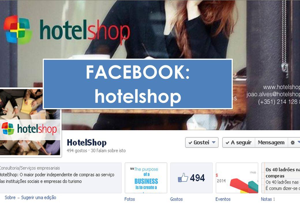 FACEBOOK: hotelshop FACEBOOK: hotelshop