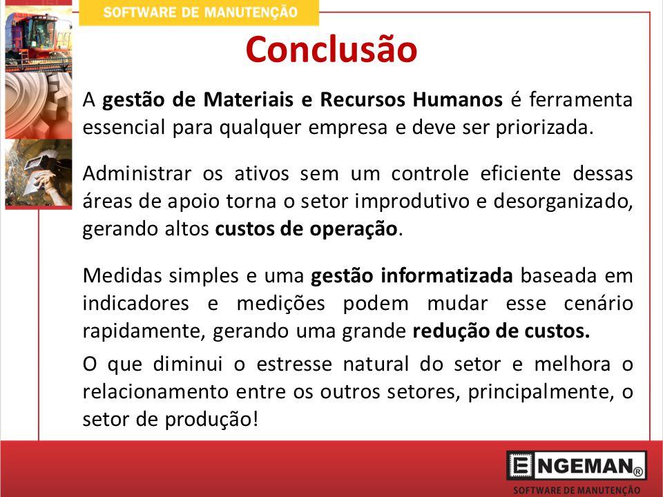 A gestão de Materiais e Recursos Humanos é ferramenta essencial para qualquer empresa e deve ser priorizada. Administrar os ativos sem um controle efi