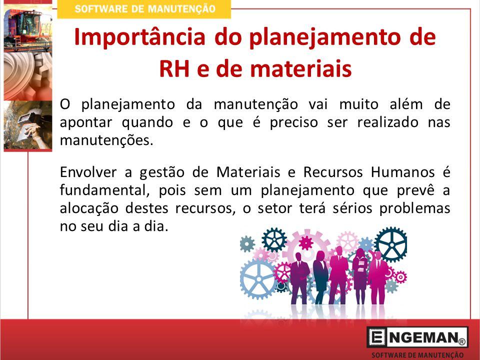 O planejamento de Recursos Humanos deve considerar alguns pontos importantes: Escala de Trabalho – Disponibilidade do Funcionário; Movimentações e ausências; Qualificações e treinamentos; Turnover.