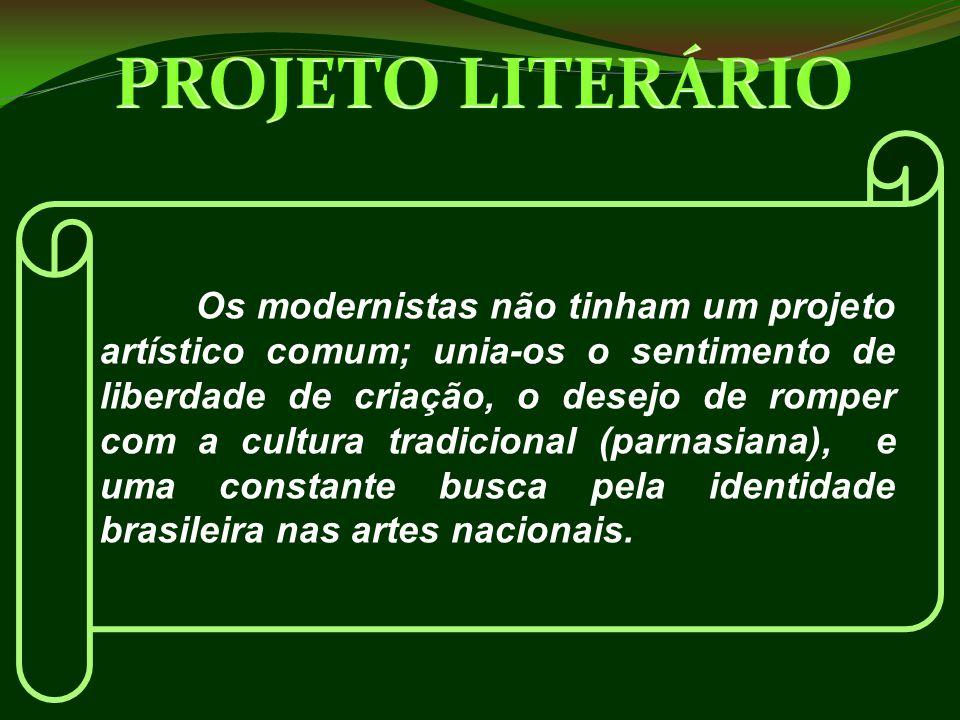 E vivemos uns oito anos, até perto de 1930, na maior orgia intelectual que a história artística do país registra .(Mário de Andrade).