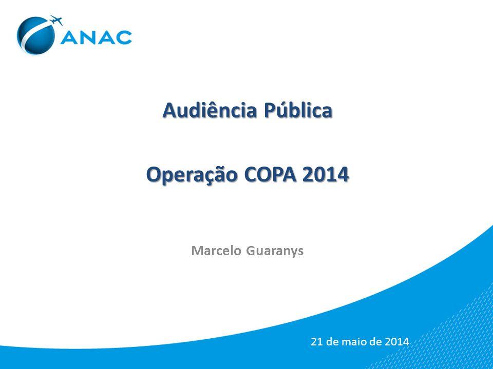 Audiência Pública Operação COPA 2014 Marcelo Guaranys 21 de maio de 2014