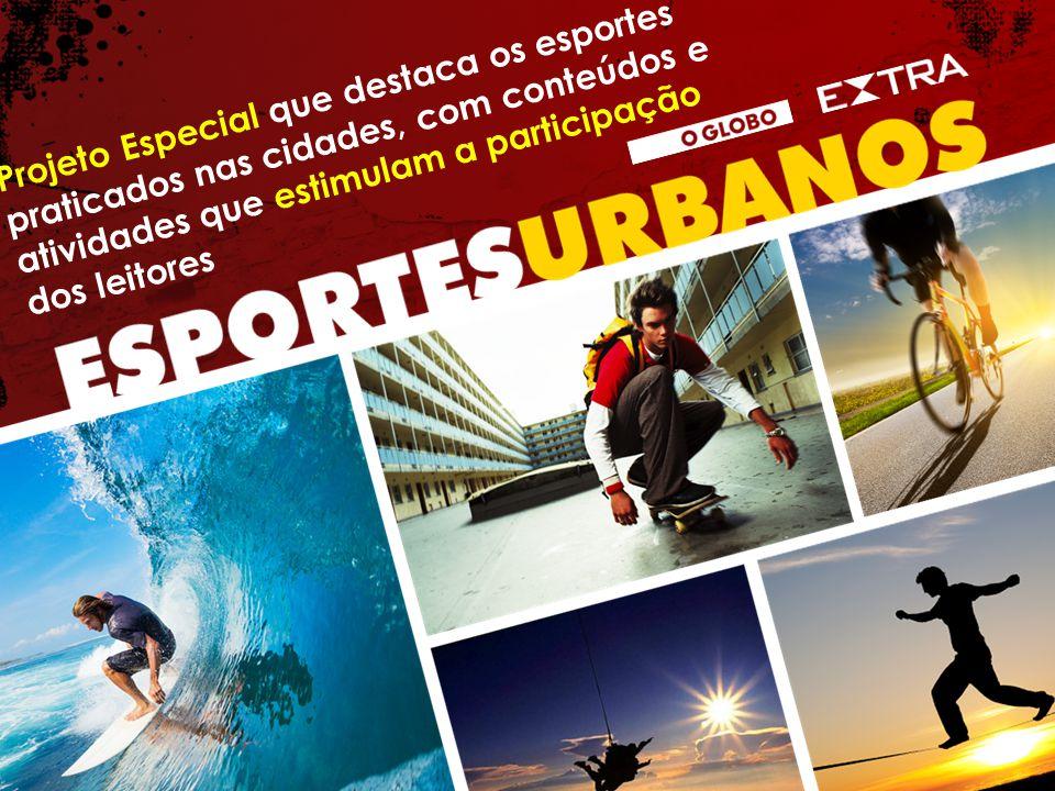 Projeto Especial que destaca os esportes praticados nas cidades, com conteúdos e atividades que estimulam a participação dos leitores