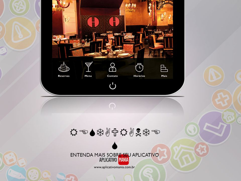 Galeria De Fotos: disponibilize fotos do ambiente, fotos de pratos, bebidas ou qualquer imagem relacionada ao restaurante.