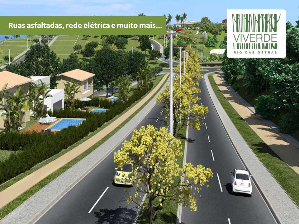 Praça com paisagismo Burle Marx e total infraestrutura
