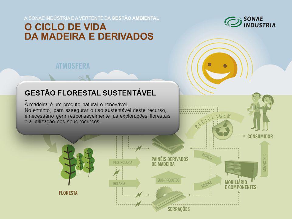 GESTÃO FLORESTAL SUSTENTÁVEL … A madeira é um produto natural e renovável. No entanto, para assegurar o uso sustentável deste recurso, é necessário ge