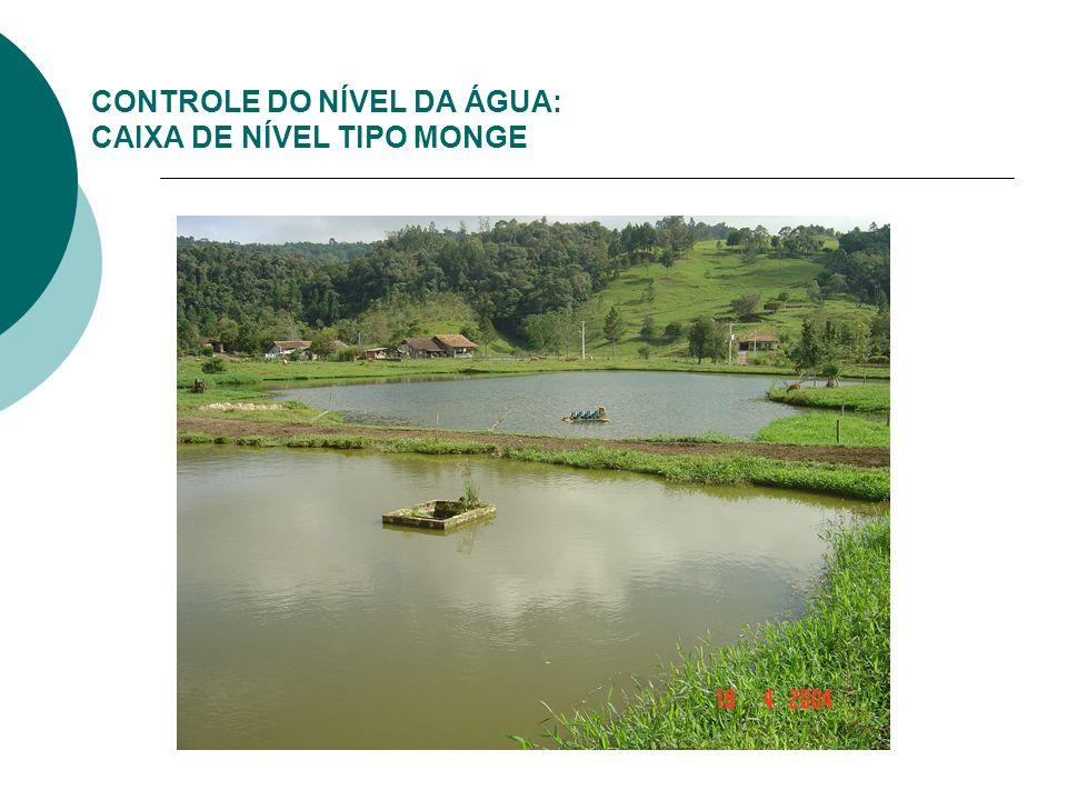 CONTROLE DO NÍVEL DA ÁGUA: CAIXA DE NÍVEL TIPO MONGE