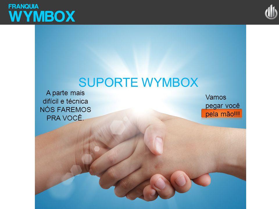 SUPORTE WYMBOX A parte mais difícil e técnica NÓS FAREMOS PRA VOCÊ. Vamos pegar você pela mão!!!