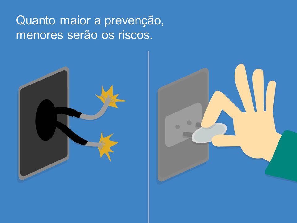 Quanto maior a prevenção, menores serão os riscos.