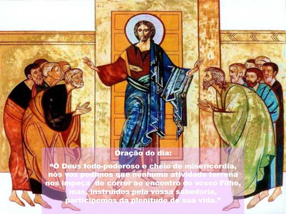 """""""Manifestai, Senhor, vosso poder e socorrei-nos com vossa força; vença em nós o vosso amor as resistências do pecado e apresse o momento da salvação."""""""