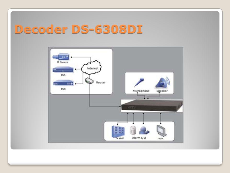 Decoder DS-6308DI