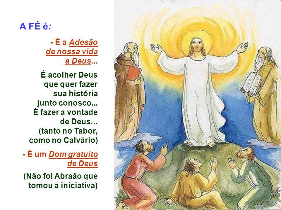 No meio dos conflitos, o Pai nos mostra desde já sinais da ressurreição e do alto daquele monte ele continua a nos gritar: