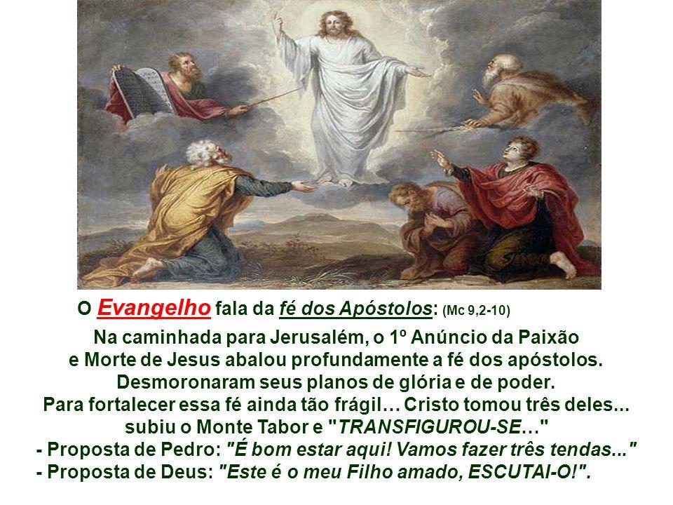 Na 2ª Leitura, Paulo retoma a figura de Isaac, subindo o monte Moriá, com a lenha do sacrifício às costas, como imagem de Cristo que também sobe o mon