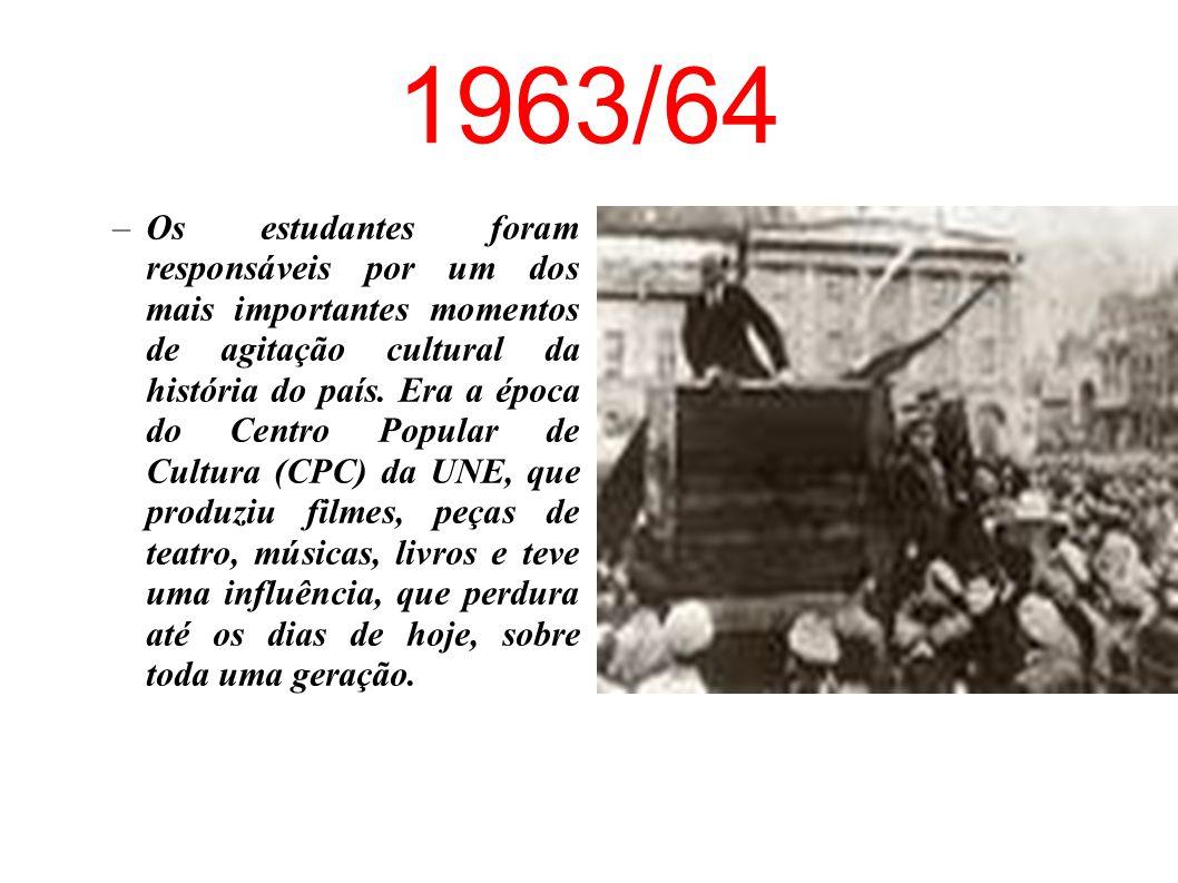 1952 –Primeiro Congresso Interamericano de Estudantes, no qual se organizou a campanha pela criação da Petrobrás – O Petróleo é Nosso
