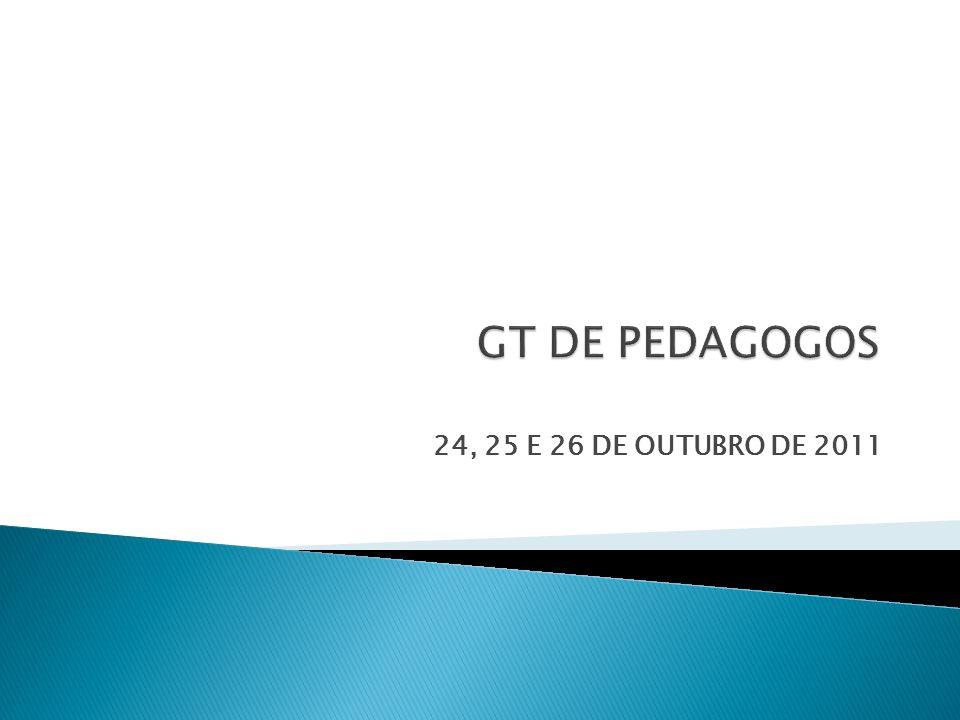 24, 25 E 26 DE OUTUBRO DE 2011