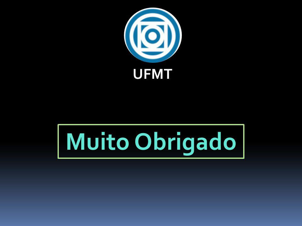 Muito Obrigado UFMT