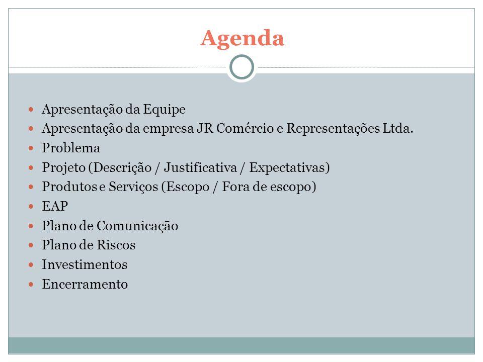 Investimentos Descrição Dado Orçamento R$ 60.000,00 (30% no aceite do contrato + 70% no encerramento do projeto).
