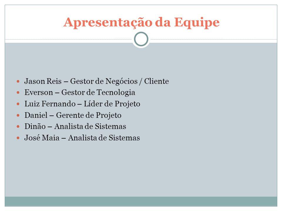 Apresentação da Empresa Empresa Patrocinadora: JR Comércio e Representações Ltda.