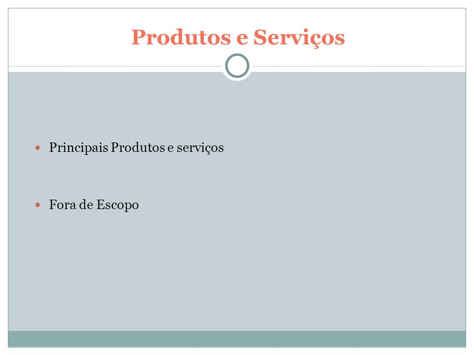 EAP - Estrutura Analítica de Projeto