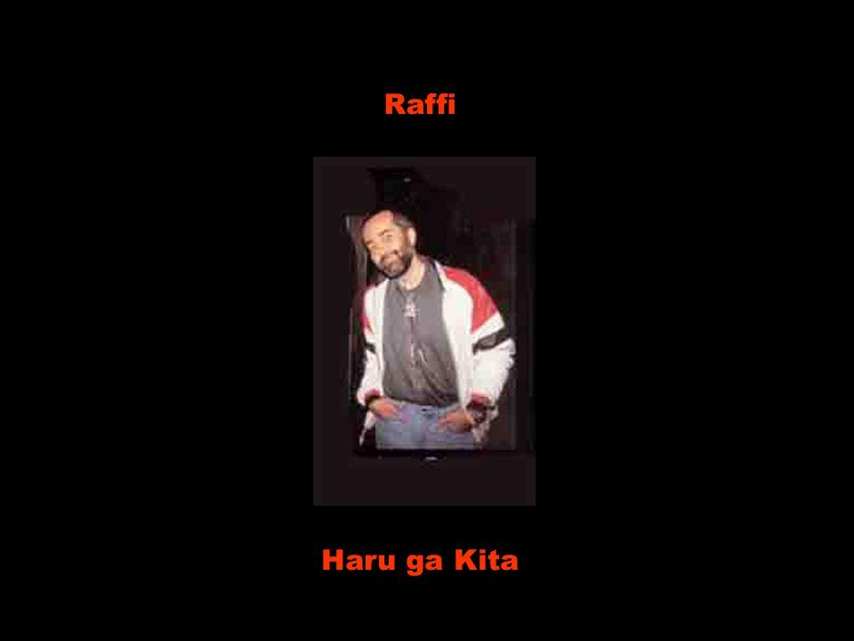 Raffi Haru ga Kita