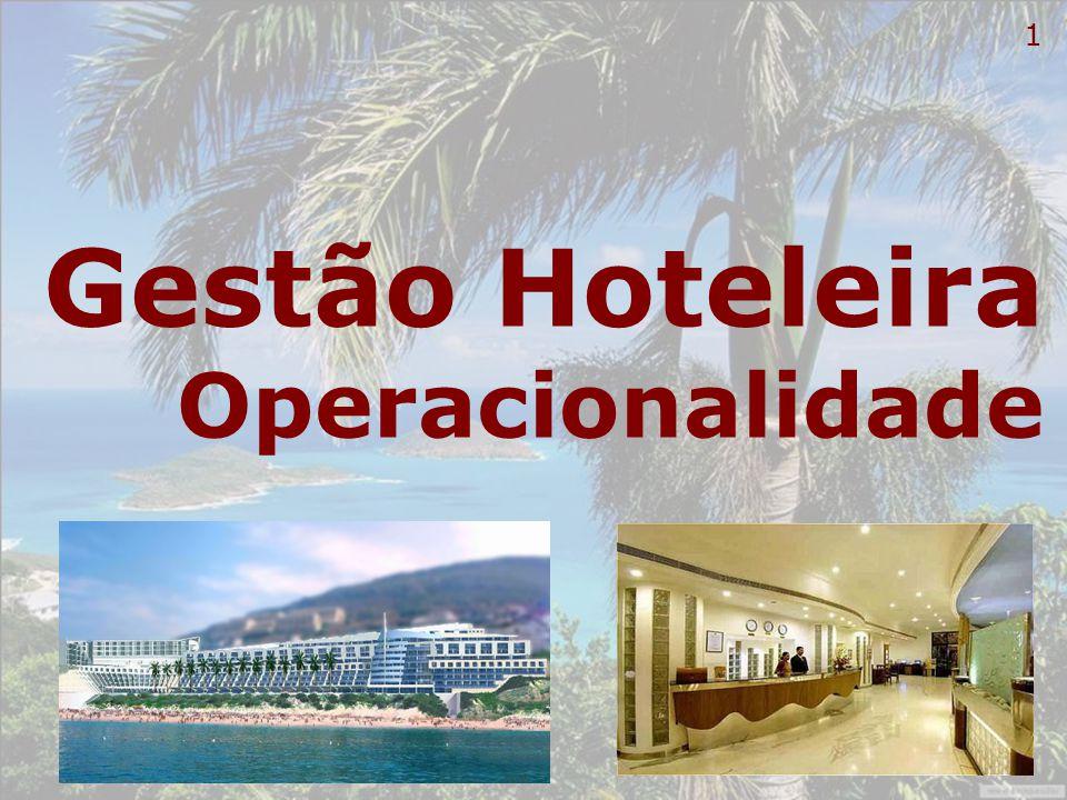 12 Governança Própria essência da empresa hoteleira – acolher os visitantes.