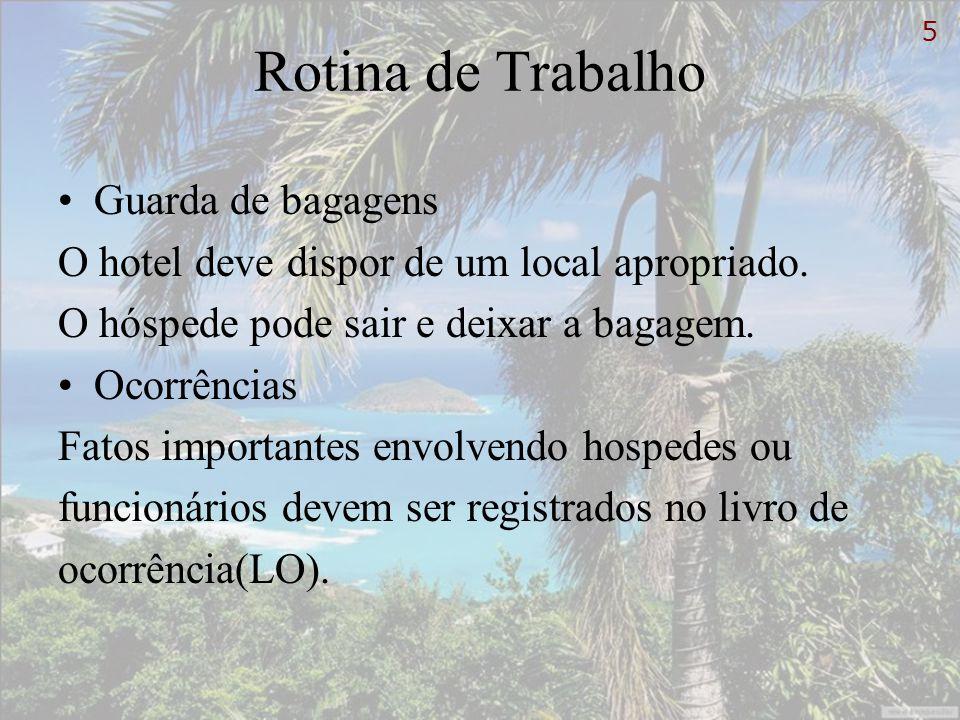 Telefonia Importante papel na venda do produto hoteleiro.