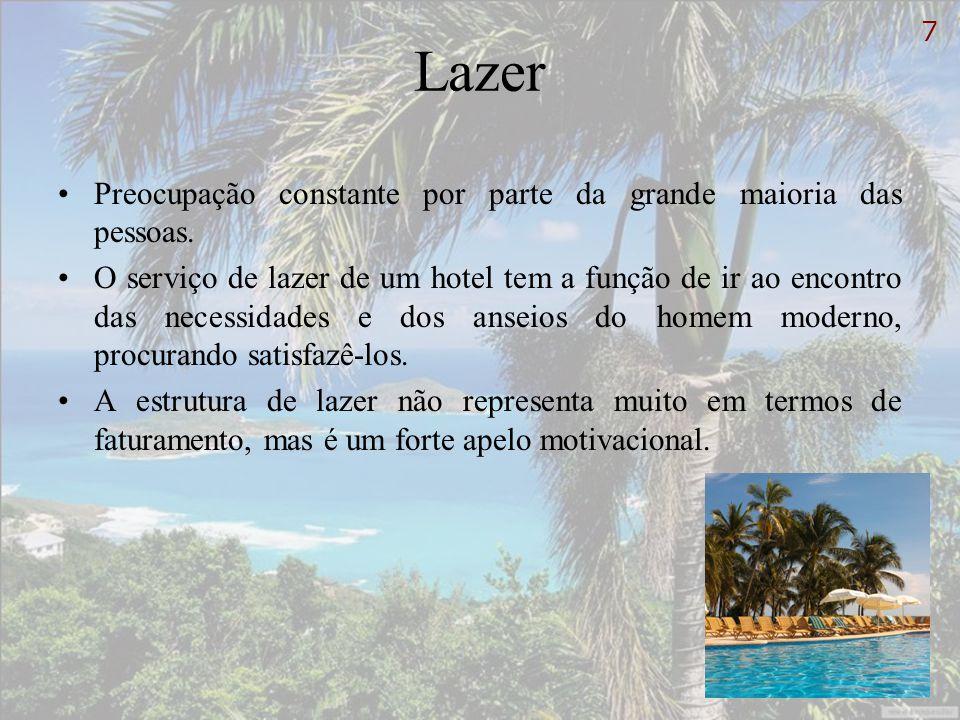 Lazer Atribuições e responsabilidades do departamento de lazer: 1.Desenvolver atividades de lazer para adultos e crianças.
