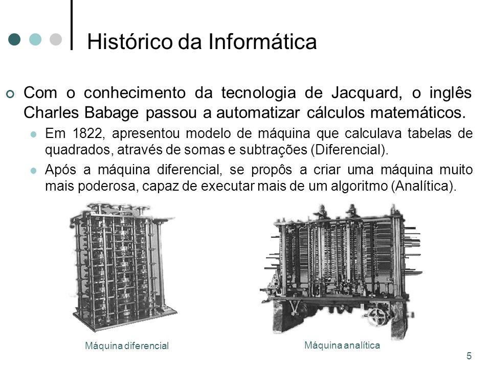 16 5a Geração (até os dias de hoje) Caracteriza-se pelos avanços em termos de hardware, software e telecomunicações.