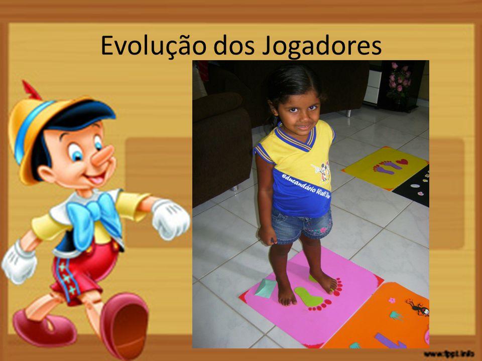 Evolução dos Jogadores