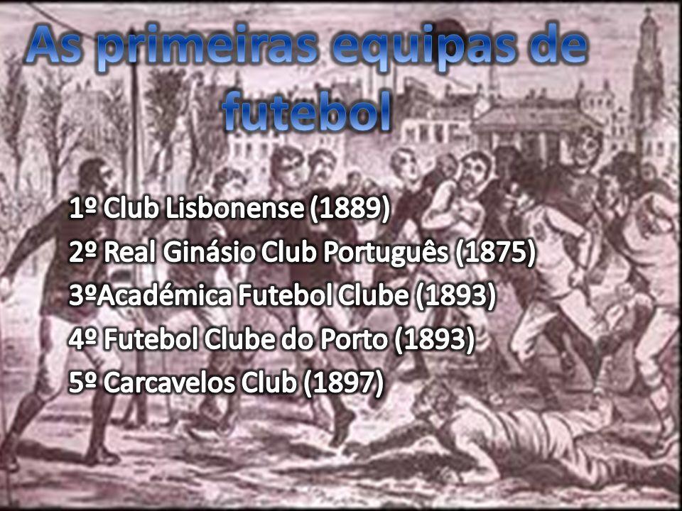 Os primeiros estádios ….
