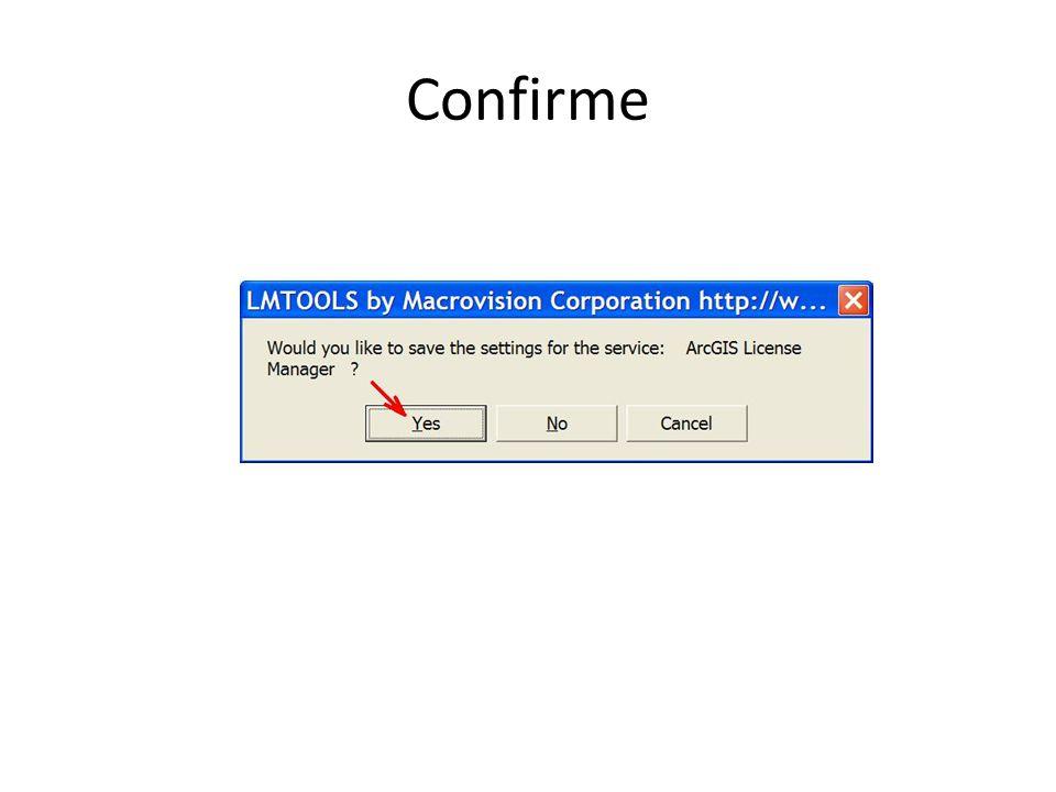 Confirme