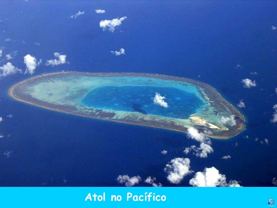 Atol no Pacífico