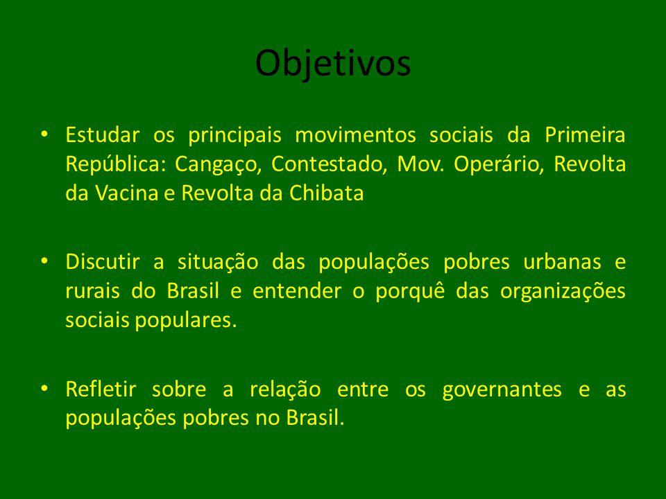 Movimentos sociais na Rep.