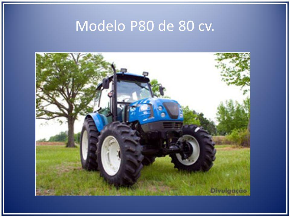 Modelo P80 de 80 cv.
