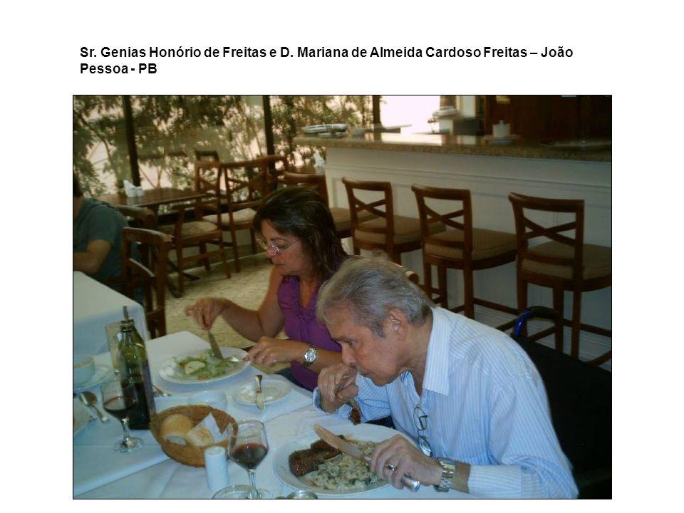 Ricardo de Almeida Carodos Freitas (filho) Liane de Almeida Cardoso Freitas (filha) – João Pessoa - PB