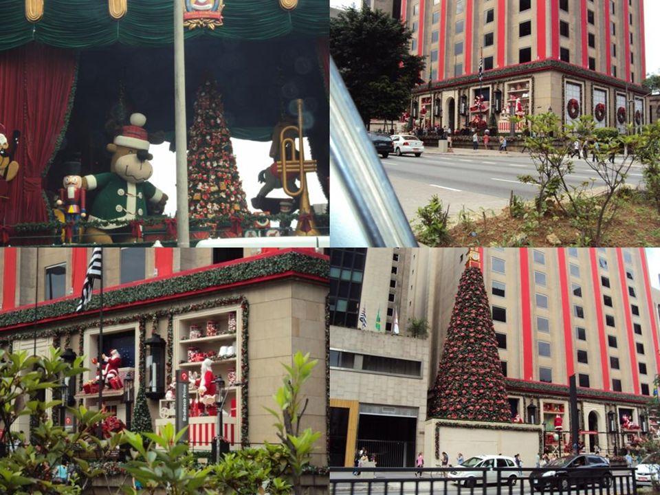 Algumas imagens da decoração do Natal 2010, na Av. Paulista e Réveillon no Templo Zu Lai.