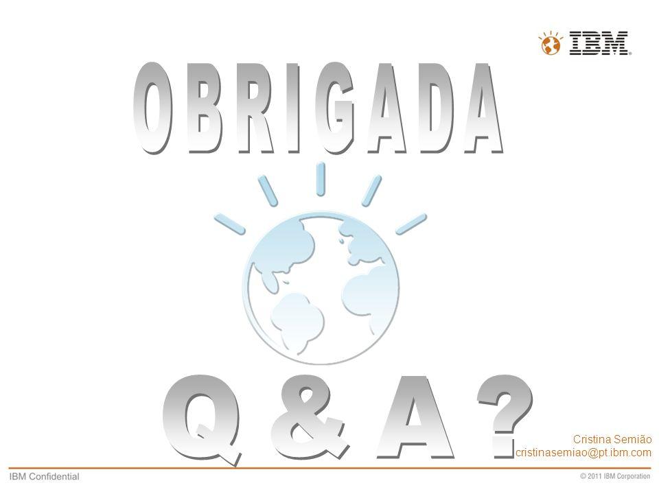 Business Unit Designation or other information Cristina Semião cristinasemiao@pt.ibm.com