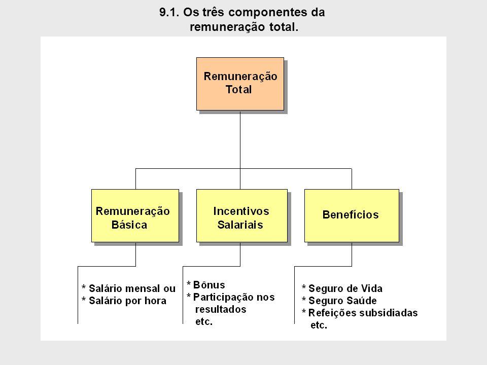 9.1. Os três componentes da remuneração total.