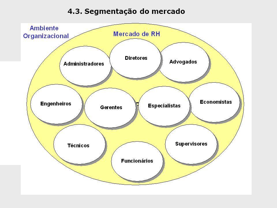 4.3. Segmentação do mercado