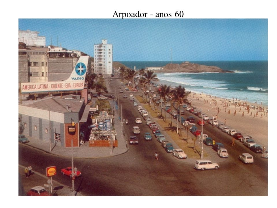 Botafogo - Viaduto Pedro Alvares Cabral - anos 60