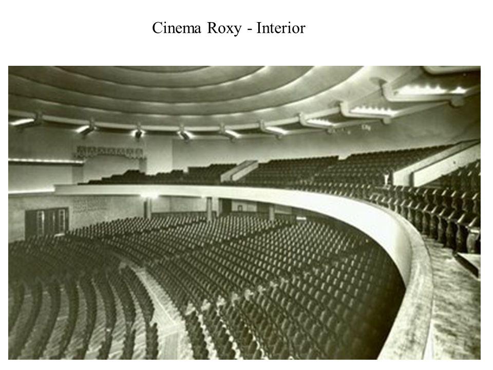 Cinema Roxy - Interior