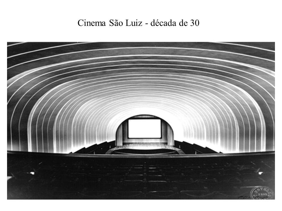 Cinema São Luiz - década de 30