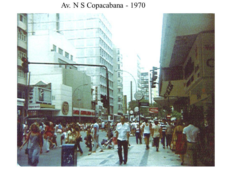 Av. N S Copacabana - 1970