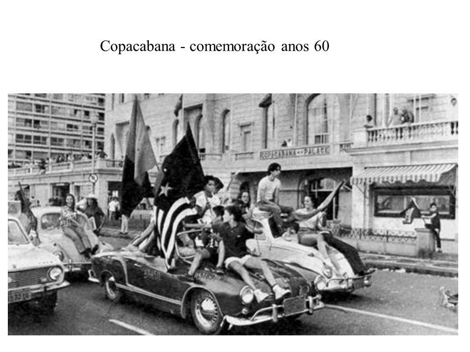 Copacabana - comemoração anos 60