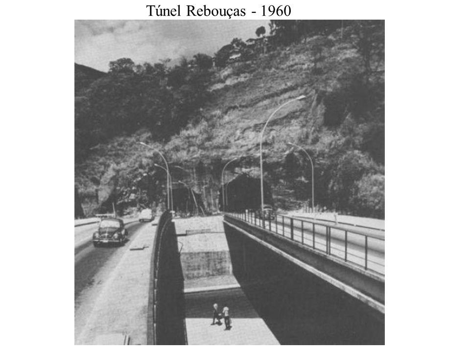Túnel Rebouças - 1960