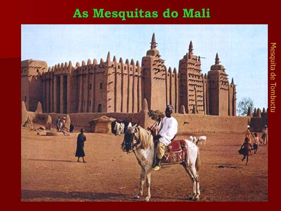 Mesquita de Tombuctu As Mesquitas do Mali