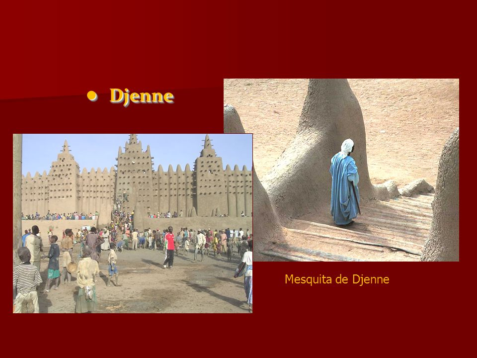 Djenne Djenne Mesquita de Djenne