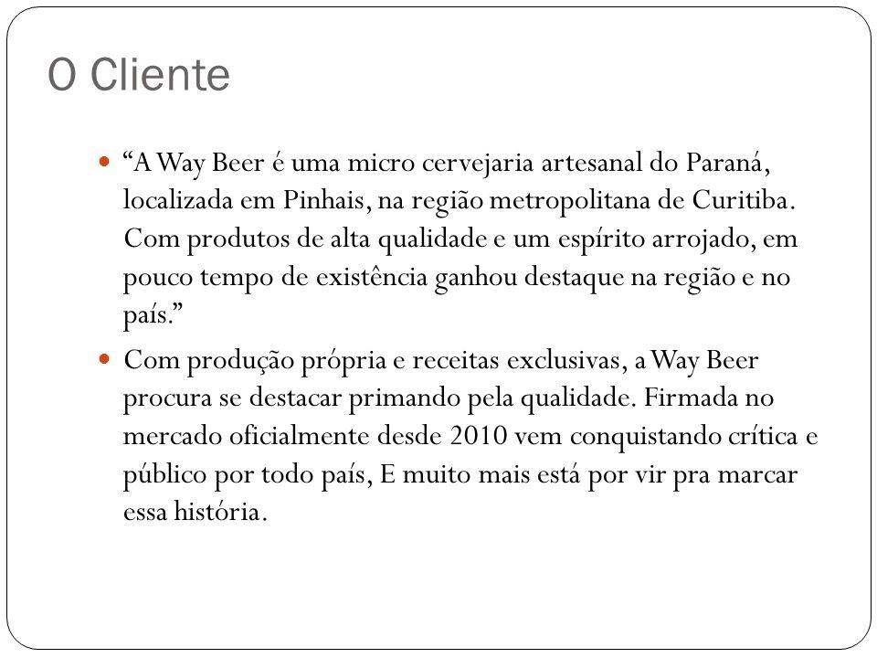 Focando seu público em homens e mulheres, entre 25 e 40 anos pertencentes as classes A e B, a Way Beer ainda trabalha com inovação e variedade de imagem e sabor para agradar todos os paladares.