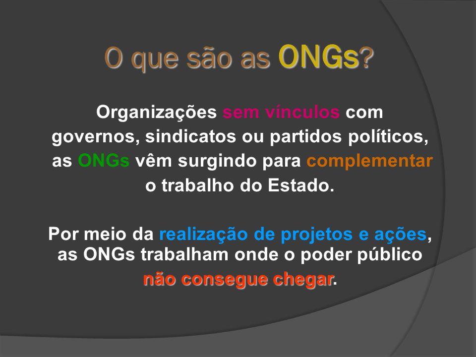 O que são as ONGs .