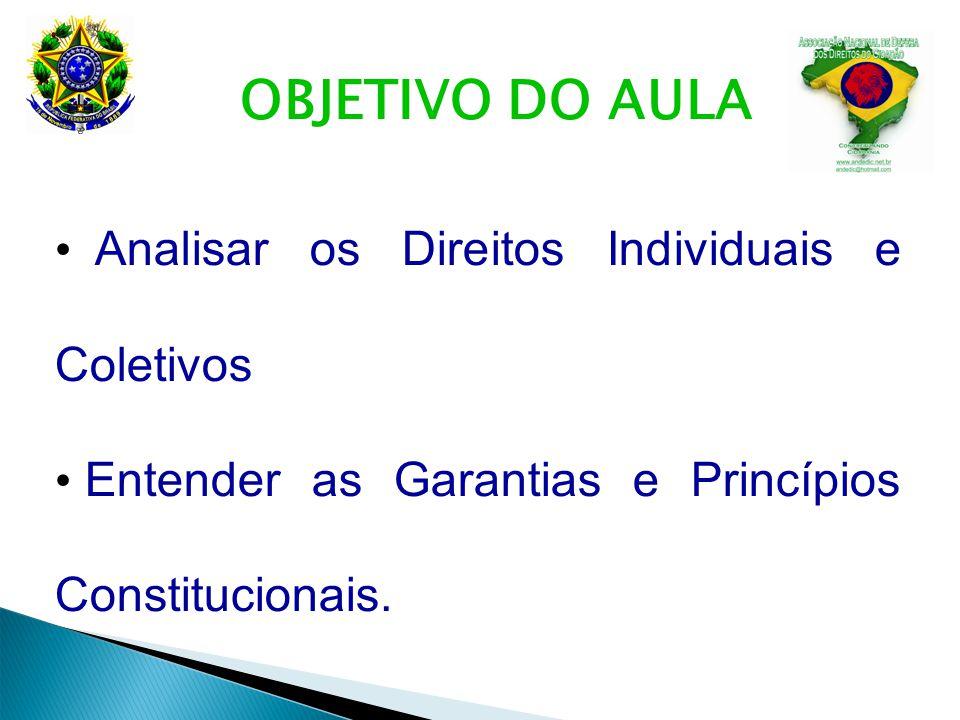 Teste seus conhecimentos 15 - (ESAF/ATRFB/2009) Quanto à delimitação do conteúdo essencial dos direitos fundamentais, a doutrina se divide entre as teorias absoluta e relativa.
