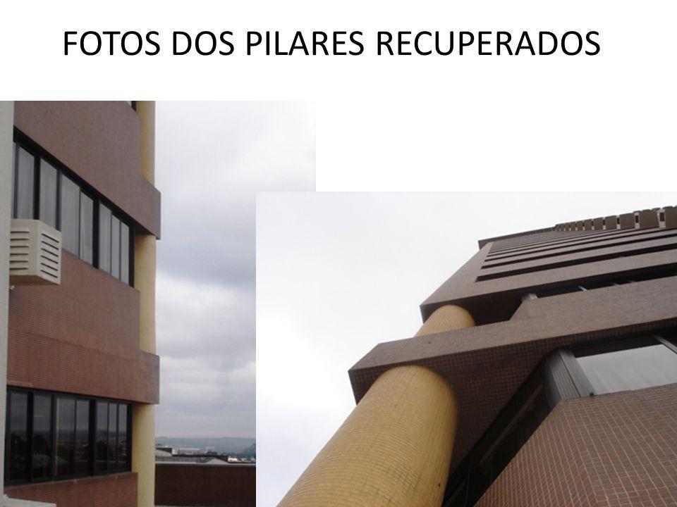 FOTOS DOS PILARES RECUPERADOS